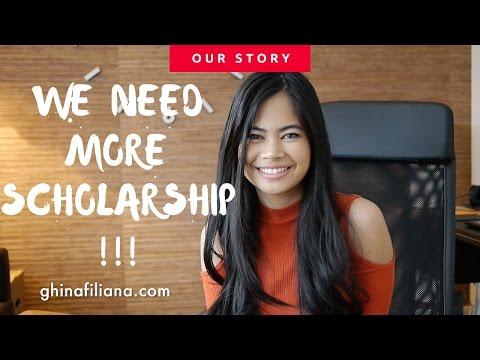 More scholarship for International students -- International Student Story