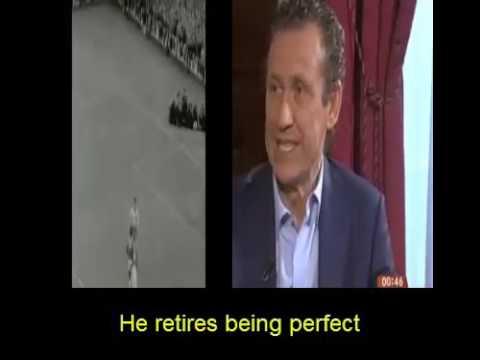 Jorge Valdano : Pelé es el futbolista mas completo de la historia sin defectos