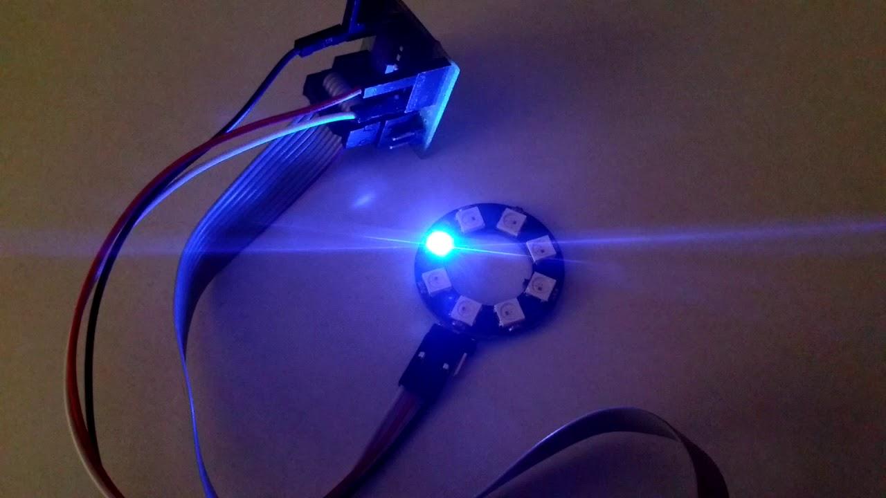 ATtiny13 - controlling LEDs WS2811/WS2812 | Łukasz Podkalicki