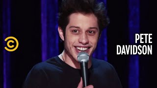 Pete Davidson is thankful his dad died while he was seven; the crushing significance of it was lost on him at the time. Subscribe to Comedy Central Stand-Up: ...