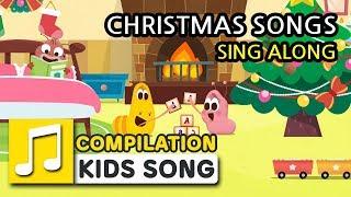 CHRISTMAS SONGS FOR KIDS | SING ALONG | KARAOKE | LARVA KIDS