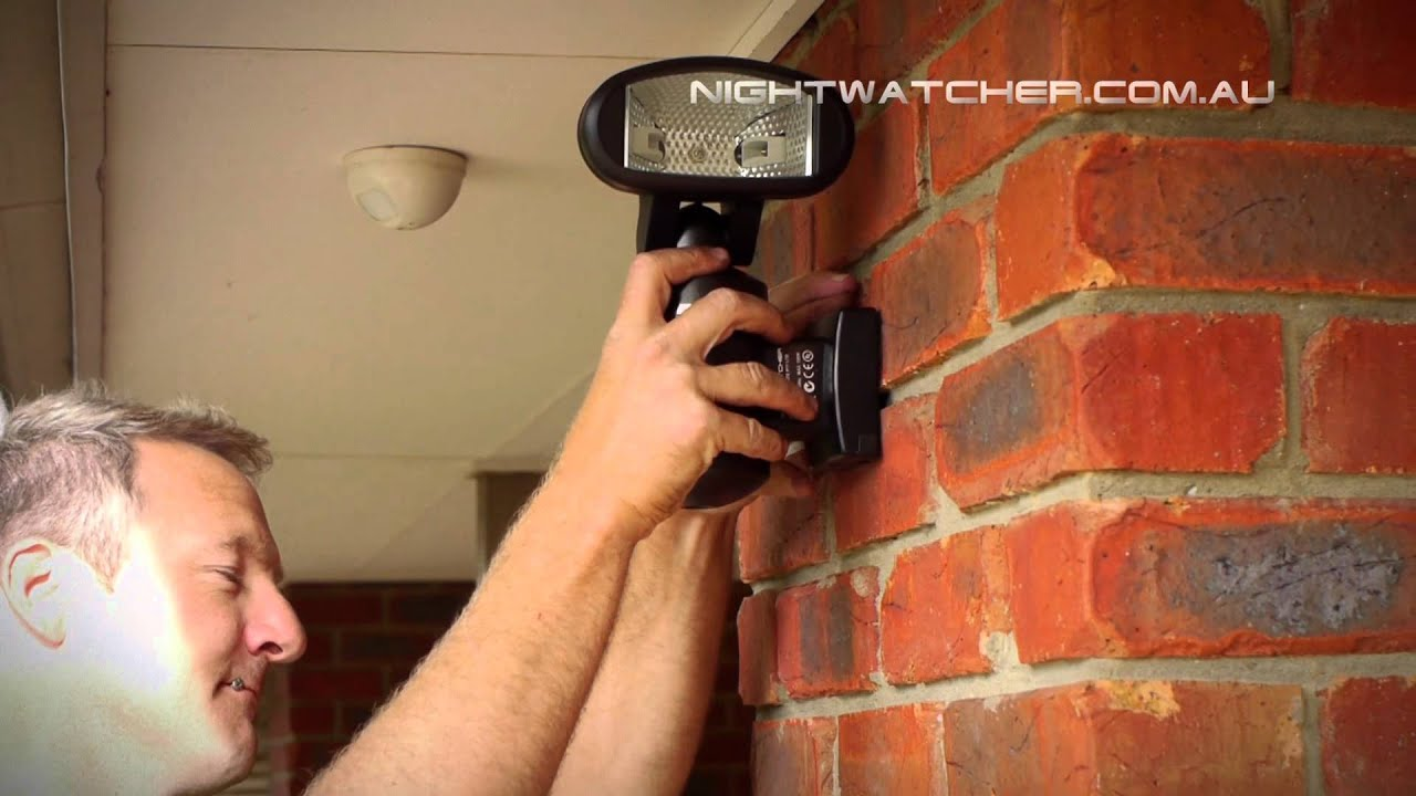 Nightwatcher security light installation and testing youtube aloadofball Gallery