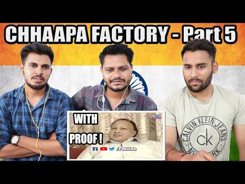 On Public Demand | Indian Reaction On BOLLYWOOD World's Biggest CHHAAPA Factory - Part 5