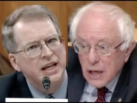 """THEY'RE RIPPING OFF AMERICA!!!"" Bernie Sanders DESTROYS the Military-Industrial Complex in Hearing"