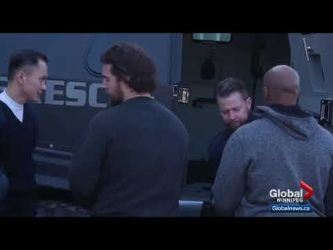City of Winnipeg police vehicles used in movie production