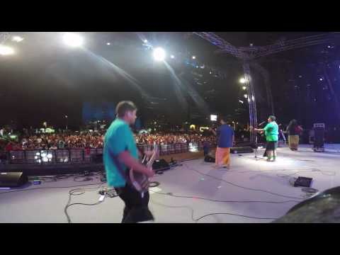 The Raghu Dixit Project - Mysore Se Aayi , Live in Dubai (Guitar Amp Cam)