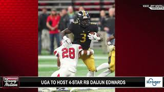 UGA hosts 4-star RB Daijun Edwards amid rumors of Zach Evans
