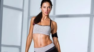 Download Video Adriana Lima Workout By Herself  | Official HD Video - 2014 MP3 3GP MP4