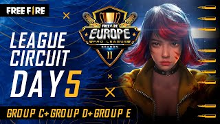 [EN] Free Fire Europe Pro League Season 2 - League Circuit Day 5