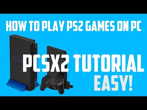 How to play PLAYSTATION 2 Games on PC in 5 Minutes EASY - PCSX2 Tutorial (Install and Setup)