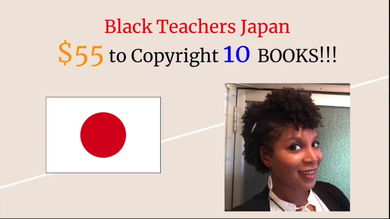 Black Teachers Japan, $55 to Copyright 10 BOOKS