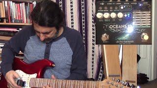 Electro-Harmonix Oceans 12 - Dual Reverb Demo