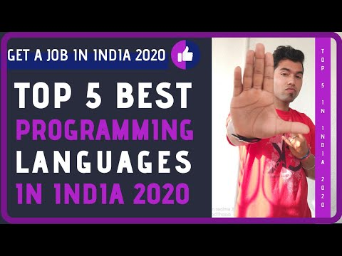 Top 5 Programming Languages To Learn In India In 2020