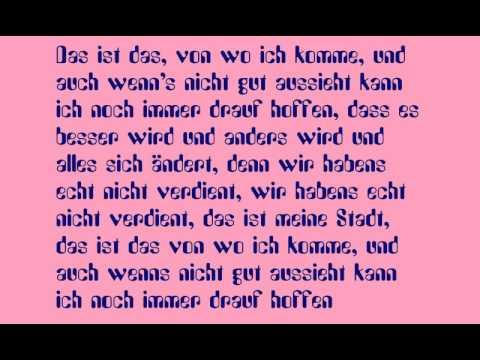 Vist - Meine Stadt (Lyrics)