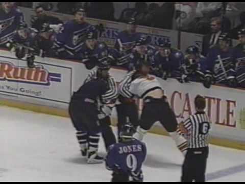 Kevin Kaminski Vs Shawn Antoski Feb 22, 1996
