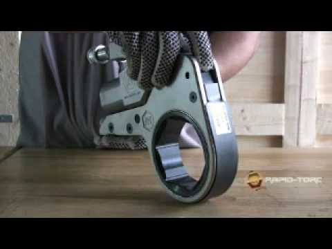 Low Profile Hydraulic Torque Wrench Youtube