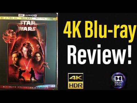 Download Star Wars Episode 3: Revenge of the Sith (2005) 4K Blu-ray Review!