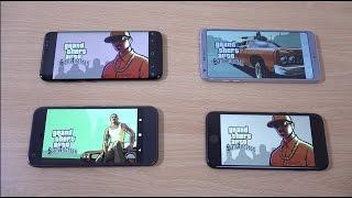 Samsung Galaxy S8 vs LG G6 vs iPhone 7 vs Google Pixel - Gaming Comparison!