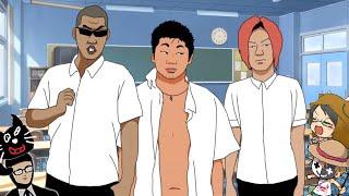 4人でアフレコしながら学園モノのゲーム実況は爆笑する