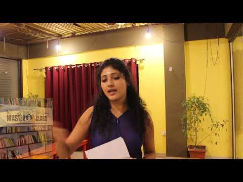 Storytelling and Creativity @ Masterclass Bangalore Edition