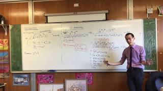 Factorisation (4 of 4: The factors of z^4 + 4)