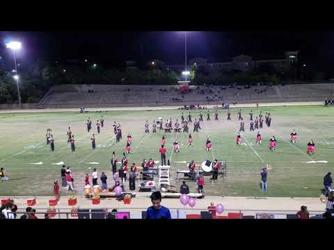 Taft Charter HS Marching Band Half-time Show 10/27/2017