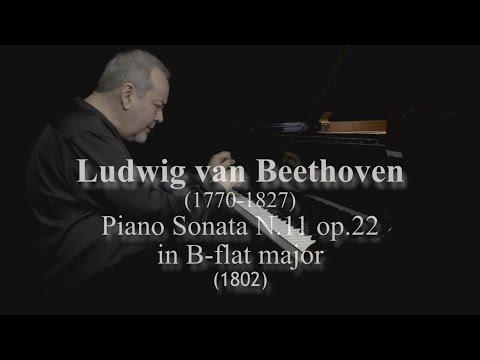 L. van Beethoven Piano Sonata No. 11 in B-flat Major, Opus 22 by David Ezra Okonsar