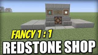 Minecraft Xbox - 1 for 1 REDSTONE SHOP [ Fancy ] Redstone Tutorial - PE / PS4 / PS3 / Switch