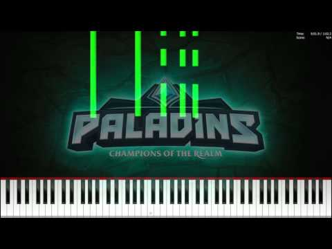 Paladins - Main Theme | Champions Of The Realm Piano (Tutorial | Cover)