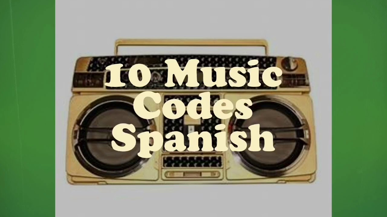 10 Latino Music Codes Roblox Youtube