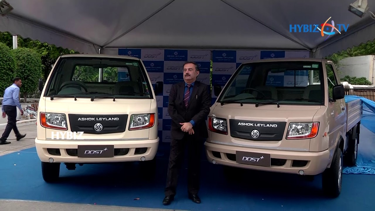 Ashok Leyland Launches DOST + Truck with 2 75 Ton GVW