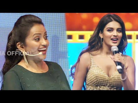 Anchor Suma Funny Teasing With Nidhhi Agerwal
