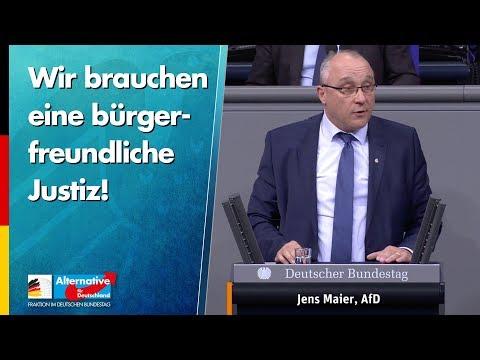 Wir brauchen eine bürgerfreundliche Justiz! - Jens Maier - AfD-Fraktion im Bundestag