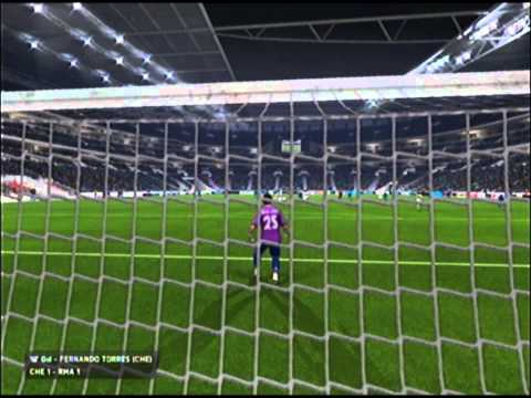 UNA VICTORIA EPICA | Amistoso-Chelsea vs Real Madrid | FIFA 14 PS3