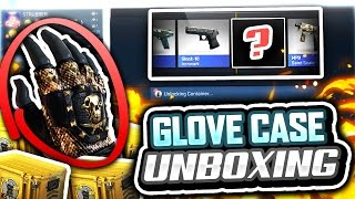 GLOVE CASE UNBOXING! (CS GO Glove Case Opening)