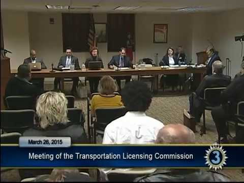 03/26/15 Metro Transportation Licensing Commission Meeting