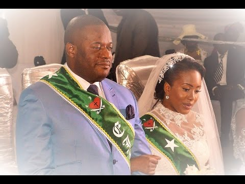 Kimbangu: MARRIAGE DE MA TRACY et PA JOSEPH MAYOLA DIANGIENDA