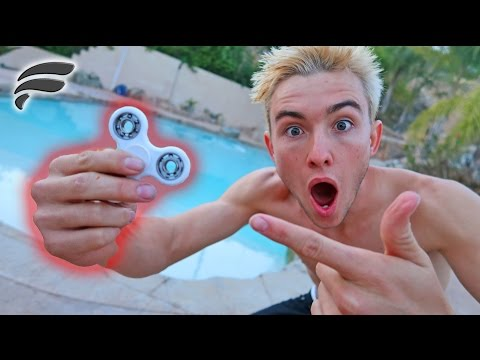 Thumbnail: 1000MPH FIDGET SPINNER (SKIP ON WATER?)