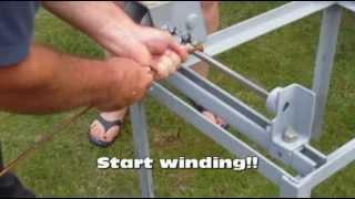 Winding copper condenser coil PART 1 - PLEASE WATCH PART 2