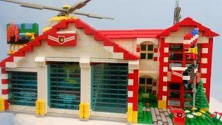 Custom LEGO Fire Station (2016 Edition)