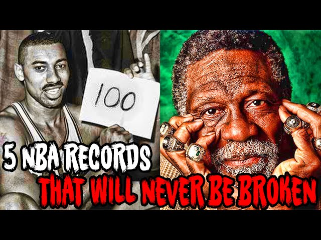5 NBA Records That Will NEVER BE BROKEN!