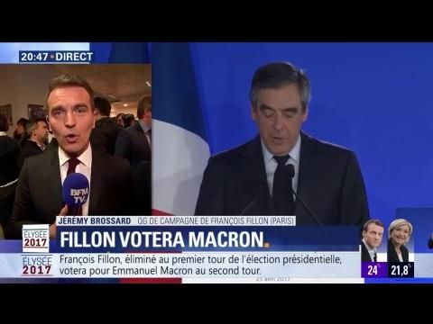 """François Fillon : """"Les obstacles étaient trop cruels (…) Cette défaite est la mienne"""""""