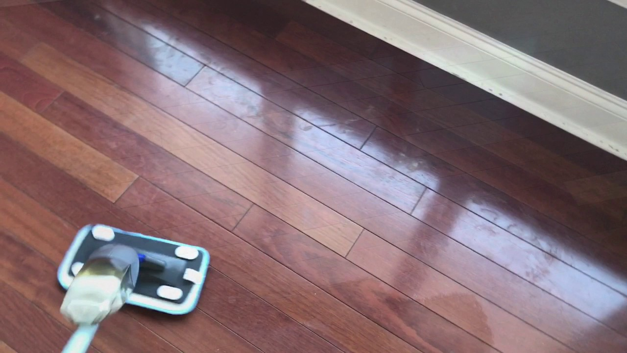 How I Clean My Hardwood Floods Using Thieves Household Cleaner