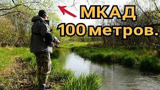 Субботник на реке. Ловля щуки на спиннинг весной в Москве.