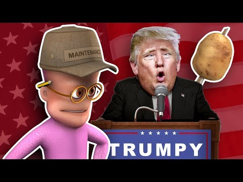 Jeb Stops Trump Talking Sh*t | Funny CGI 3D Animated Short