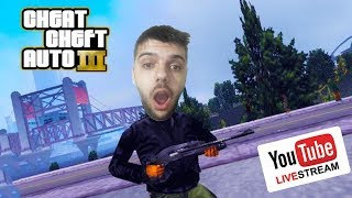 Grand Theft Auto III : Kanser City 12 [Youtube Canlı Yayını]