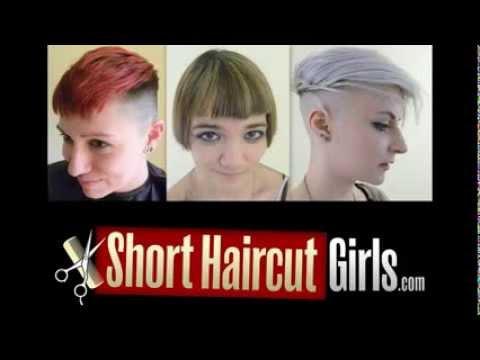Extreme Undercut Makeover www.ShortHaircutGirls.com Shaved Undercut