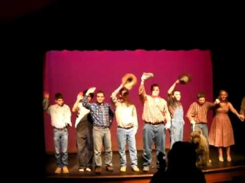 """Of Mice and Men"" - Final Bow The Woodhall School 02/24/13"