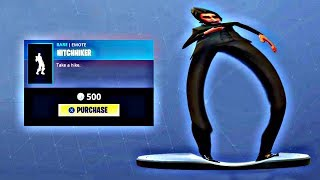 New HITCHHIKER Fortnite Emote Bass Boosted Earrape MEME