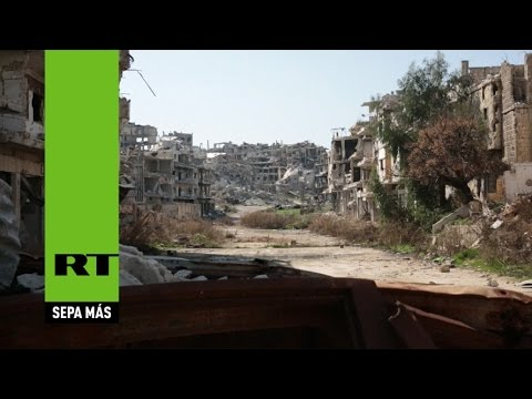 Siria: El terrorismo convirtió a Homs en un pueblo fantasma